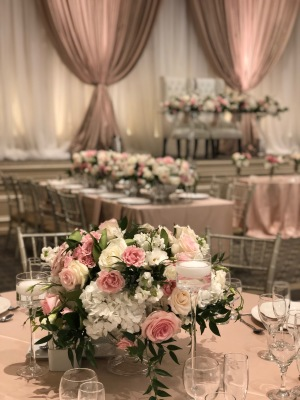 Blush Pink Wedding Backdrop, Wedding Decor, Backdrop,